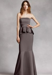 White by Vera Wang Collection VW360134 Bridesmaid Dress ...