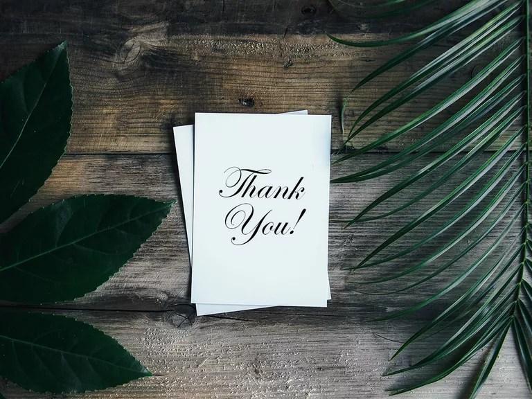 Thank-You Notes Wedding Thank-You Wording