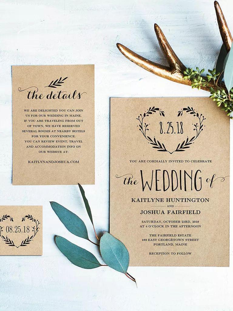 wedding invite templates