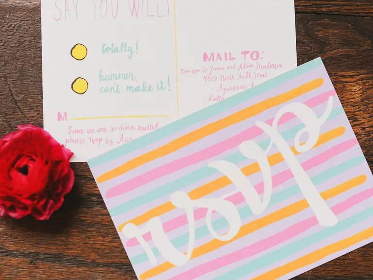 What Does RSVP Stand For? Every Question About RSVP Cards, Answered