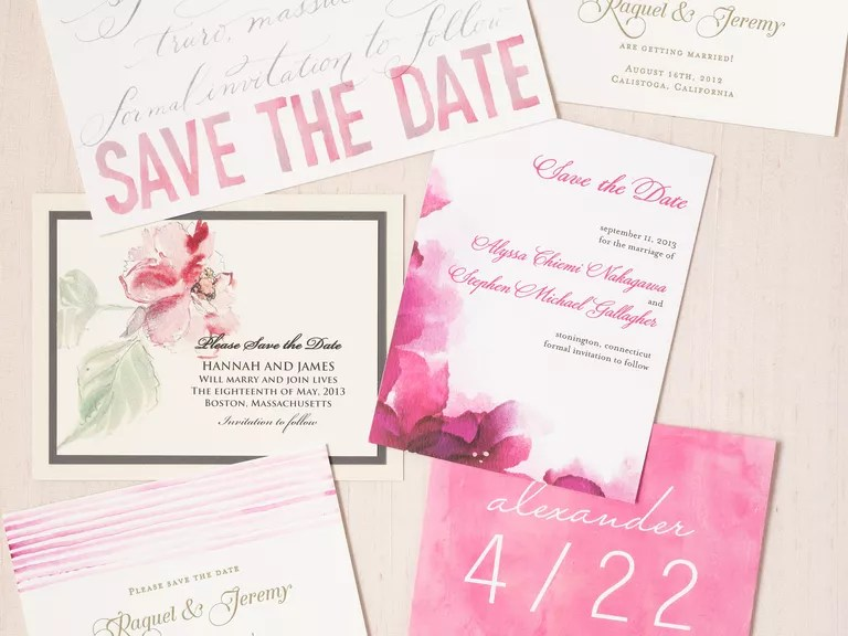 Save-the-Date Etiquette Tips Save-the-Date Mistakes Not to Make