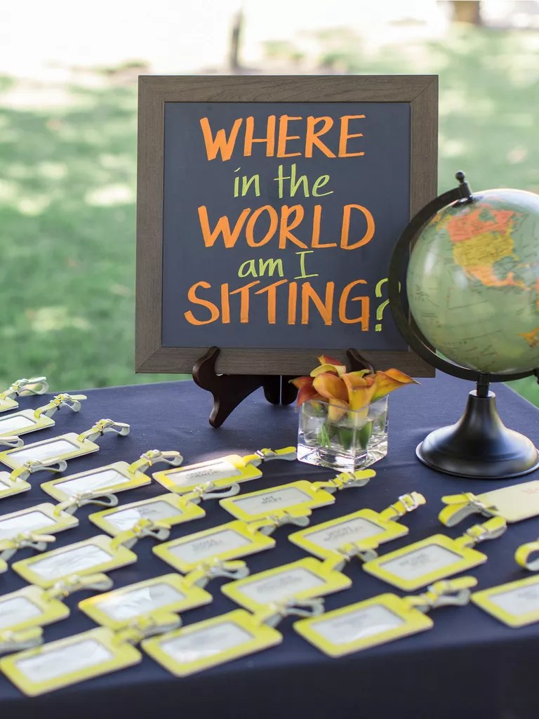 Around The World Decoration Ideas 15 Creative Ideas For A Travel Themed Wedding