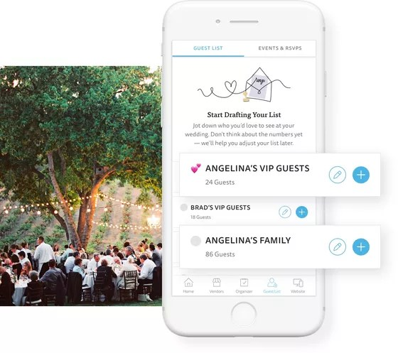 Wedding Guest List - Free Wedding Guest List Manager - The Knot