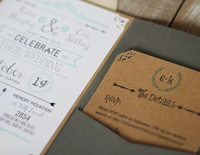 Wedding Invitation Templates (That Are Cute And Easy to Make!) - The
