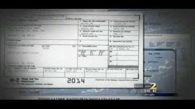 2 Investigates Fake W2s and pay stubs for sale online WSB-TV