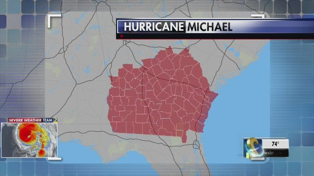 HURRICANE MICHAEL TRACK LIVE UPDATES Hurricane Michael gains