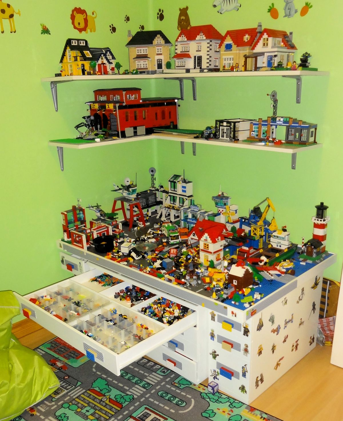 Ideen Aufbewahrung Playmobil 1000 43 Images About Lego Table On Pinterest Lego Table