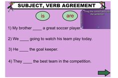Subject Verb Agreement Worksheets Primary Resources | Create ...