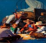 Poker Cowboy Paintings