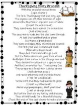 First Grade Thanksgiving Story