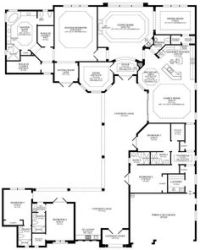 Floor plans on Pinterest | Home Plans, House plans and ...