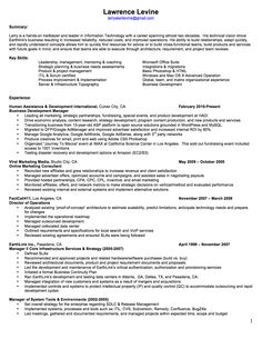 Sample resume for a process server