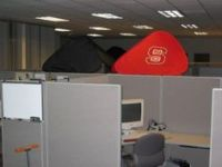 Cubicle Corner on Pinterest | Cubicles, Offices and ...