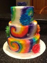 Savannah tie dye cakes on Pinterest | Tie Dye Cakes, Tie ...