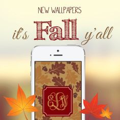 Fall Southern Prep Wallpapers Monogram Your Iphone Amp Ipad On Pinterest Monogram