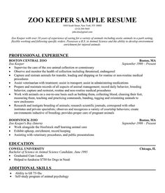 Zookeeper resume example resume pdf download zookeeper resume example animal caretaker resume example for your success cover letter example cover letter examples altavistaventures