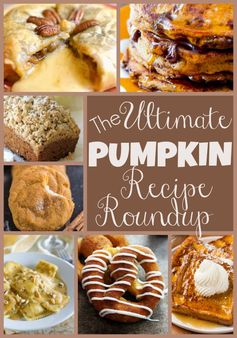 The Ultimate Pumpkin Recipe Roundup | Dreaming of Leaving- Featured at the #HomeMattersParty 52