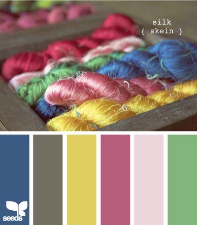 silk skein from Design Seeds