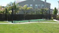 Backyard Batting Cage | sports | Pinterest