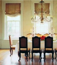 dining room. roman shades   French Country/Shabby Chic ...