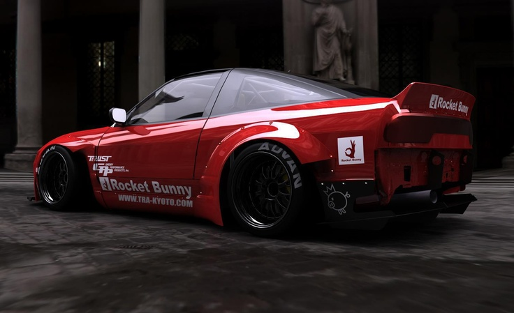 Hd Car Wallpapers 4k Mazda Mx 5 1995 Red Rocket Bunny S13 Hatch 240sx Pinterest