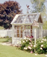 Greenhouse From Old Windows | Garden Ideas | Pinterest
