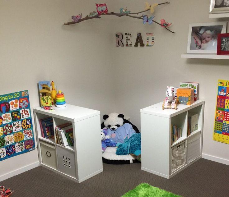 Reading nook using ikea kallax shelves Home Care \ Organization - ikea online babyzimmer