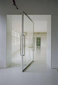 Glass pivot door | Modern Living | Pinterest