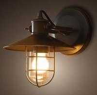 Restoration Hardware Harbor Sconce | Decor | Pinterest