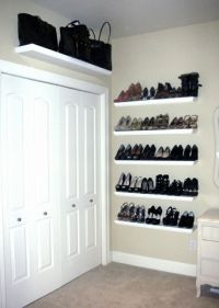 Shoe Shelves - Wall Mounted Shoe Storage | clothes and ...