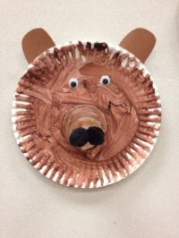 paper plate bear craft | Teachy Teach | Pinterest