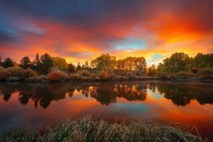 National Geographic Fall Wallpaper Autumn Sunrise Sunrise Sunset Pinterest