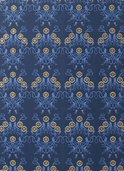 octopus wallpaper | anthropologie | For the Home | Pinterest