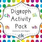 Consonant Digraph Activities The Curriculum Corner 123