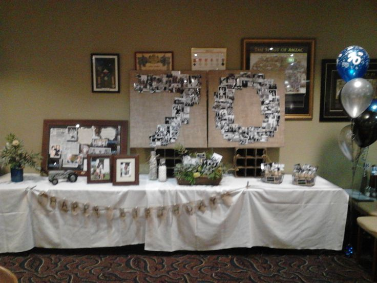 70th Birthday Party Decoration Ideas Elitflat