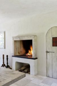 raised fireplace | Custom Home... One Day | Pinterest