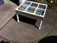 Old window turned coffee table | I did this!!! | Pinterest