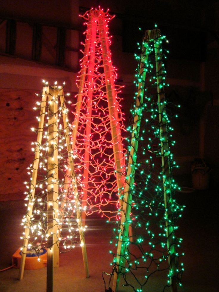 how to make christmas outdoor decorations - Rainforest Islands Ferry - lighted christmas yard decorations