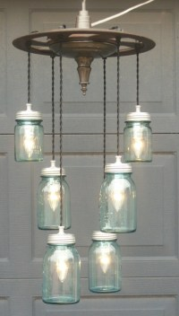 Ball Jar Light Fixture