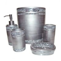 Mosaic Silver Bath Collection   Bathroom   Pinterest