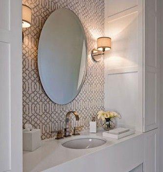 beautiful bathroom wallpaper 2017 - Grasscloth Wallpaper
