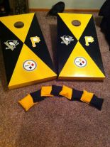 Pittsburgh Steelers Corn Hole Boards