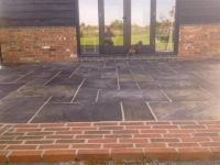 red brick patio | House Ideas | Pinterest