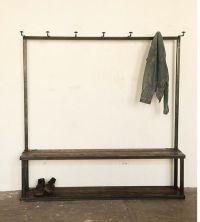 bench coat rack   For the Home   Pinterest