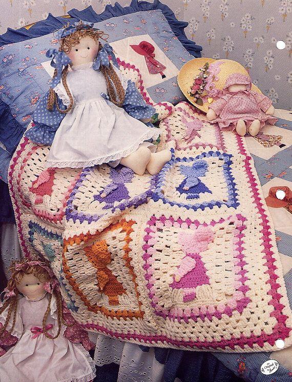 Sunbonnet Sue Crochet Afghan Pattern Annies Attic