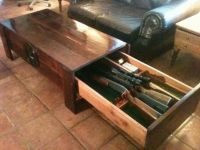 hidden compartment coffee table | Keep it covert | Pinterest