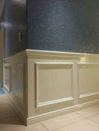 DIY Wall paneling | For the Home | Pinterest