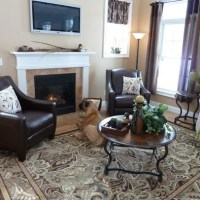 Paisley Park area rug from Lowes | Country living room ...