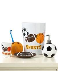 Sports accessories | Boys Room/Bath | Pinterest