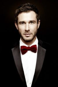 The red bow tie #tux #tuxedo #menswear | Wedding Tuxedos ...